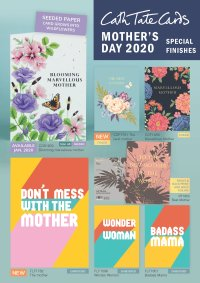 Cath Tate Cards Mother's Day 2020 Catalogue