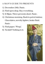 A Man's Guide To Presents