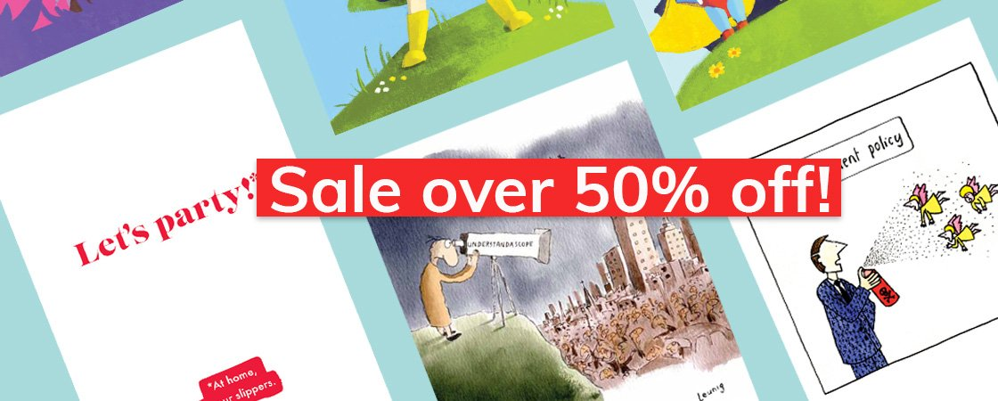 Sale new cards and gifts on sale