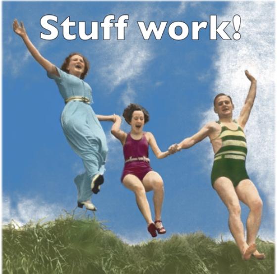 Stuff Work Magnet