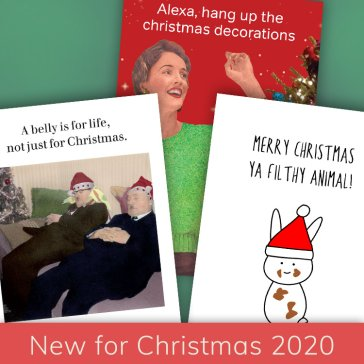 New Christmas cards for 2020