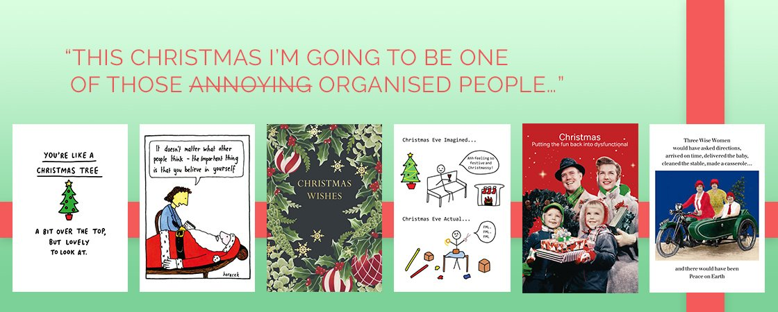 Christmas cards and packs