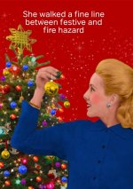 Festive Fire Hazard