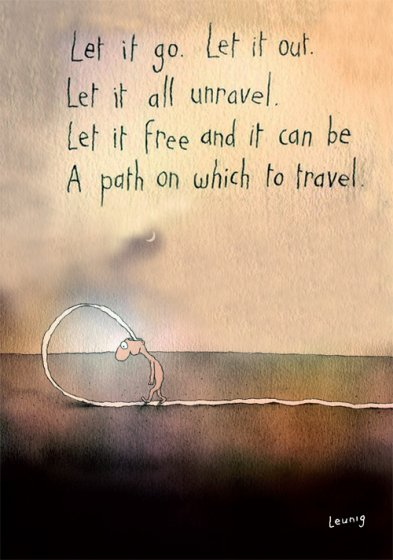 A Path To Travel Greeting Card