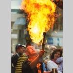 Fire Eater, Shrewsbury Street Festival