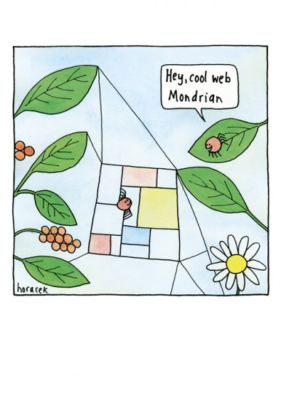 Cool Web Mondrian