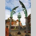 Darwin Gate Sculpture, Shrewsbury