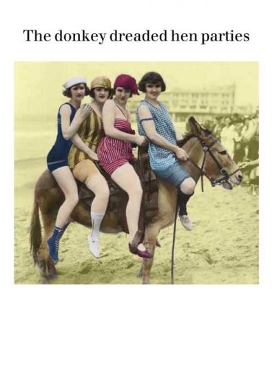 Hen Parties Greeting Card