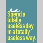 Useless Day Postcard