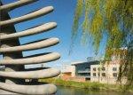 Quantum Leap Sculpture With Theatre Severn