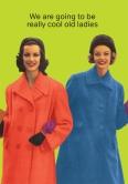 Cool Old Ladies - LRF986