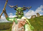 The Green Man, Clun, Shropshire