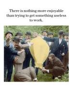 Get Something Useless To Work