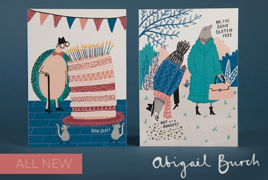 New range of greeting cards from Abigail Burch