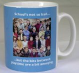 School's Not Bad Mug