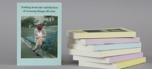 New caption notebooks from Cath Tate Cards