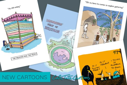 New cartoon cards from Cath Tate Cartoons